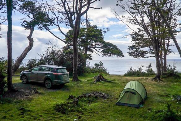 Camping Patagonien San Isidro Punta Arenas