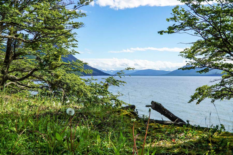 Chile Feuerland Lago Blanco