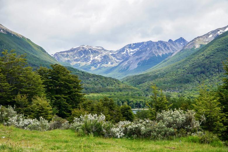 Feuerland Tierra del Fuego Andenpanorama