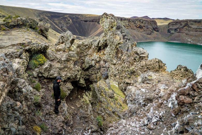 Laguna Azul - Roadtrip Route Patagonien