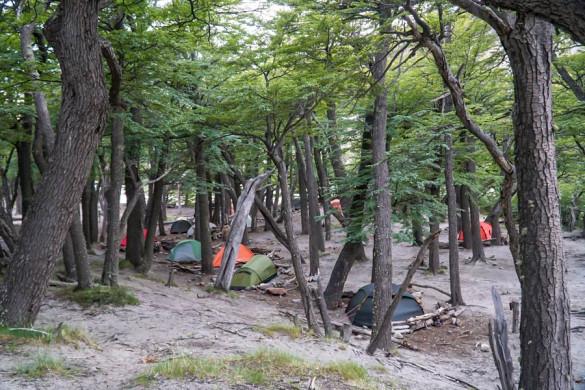 Camping Patagonien Camping de Agostini