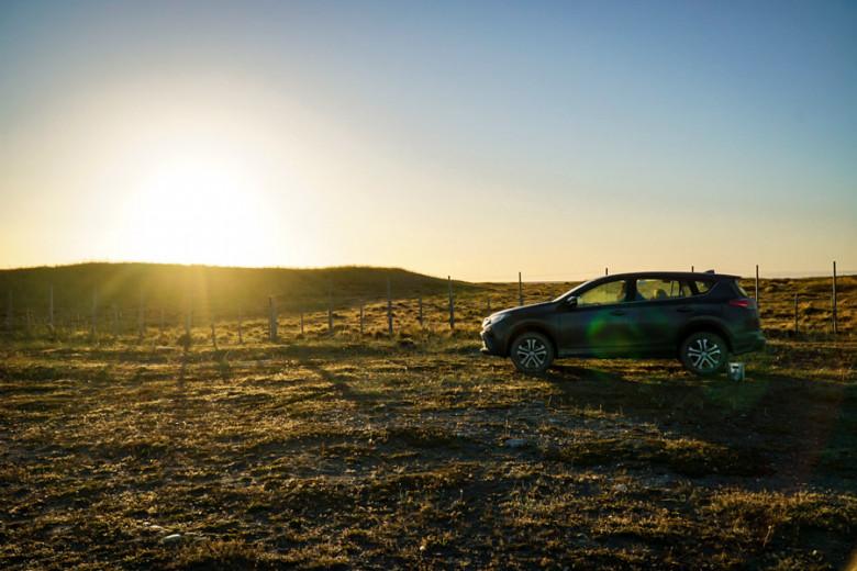 Camping Patagonien Auto