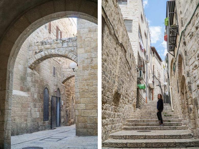 Jerusalem Altstadt Gassen