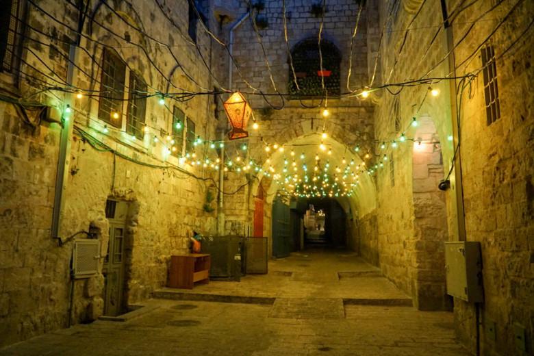 Jerusalem Altstadt Abends