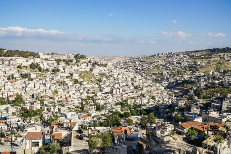 Jerusalem Aussichtspunkt Land