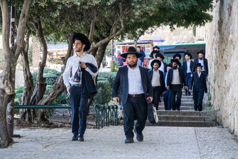 Jerusalem Jüdische Gläubige