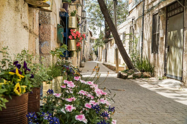 Jerusalem Nahlaot Viertel