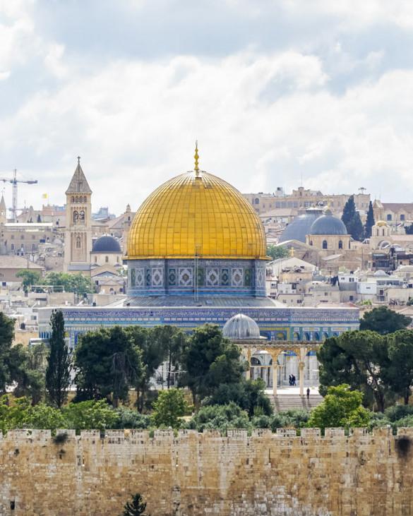 Jerusalem Ölberg Felsendom