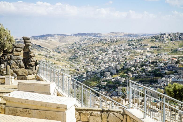 Jerusalem Ölberg Aussicht