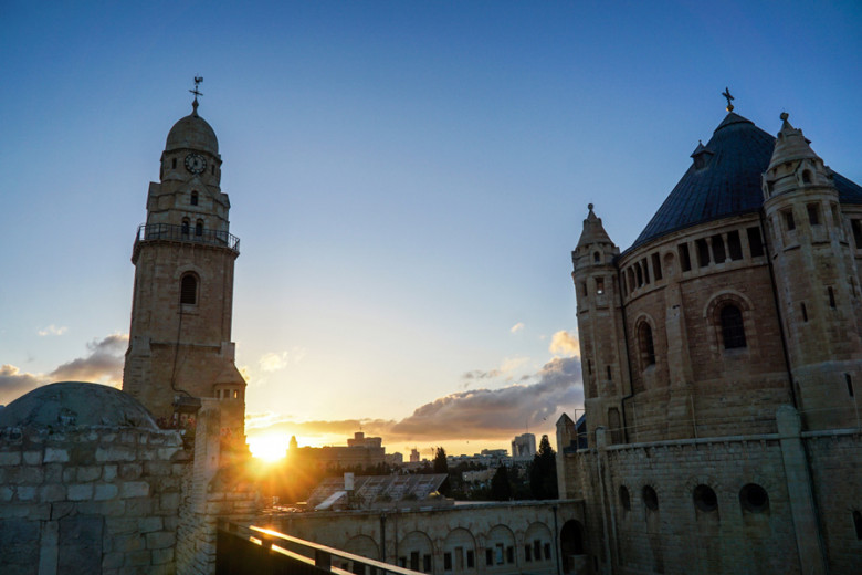 Jerusalem Sonnenuntergang Davidsgrab