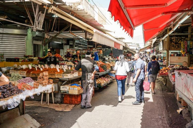 Tel Aviv Israel Carmel Market