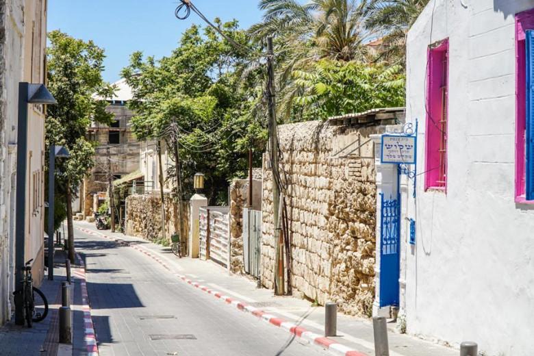 Tel Aviv Israel Floretin und Newe Zedek