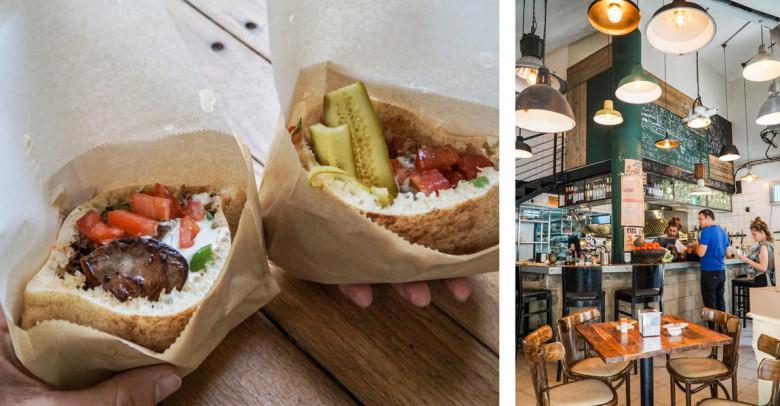 Tel Aviv Israel Miznon Restaurant Pita