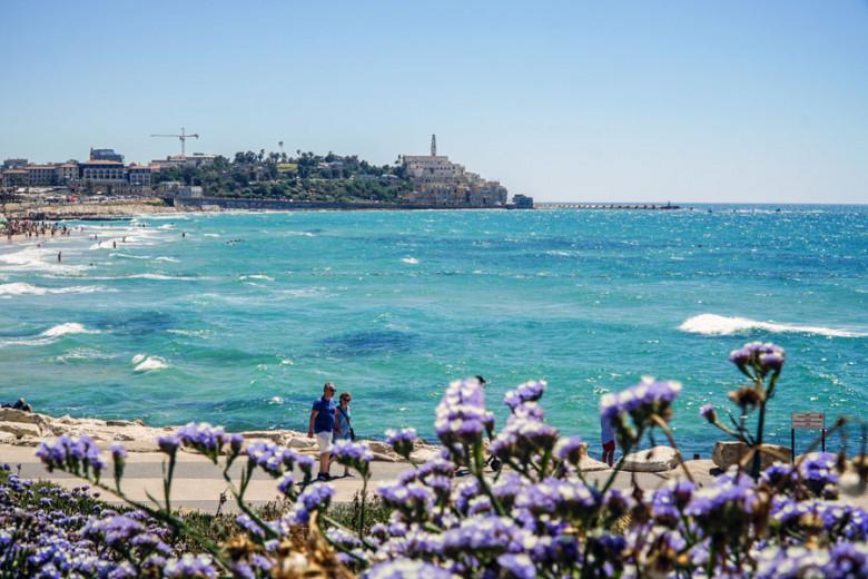 Tel Aviv Israel Promenade