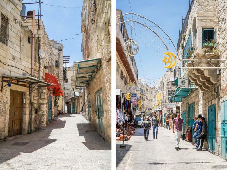 Bethlehem Palästina Altstadt
