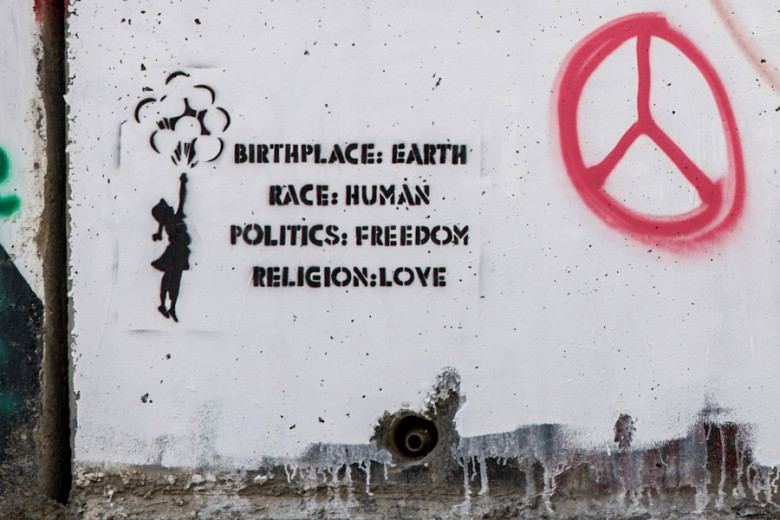 Bethlehem Separation Wall Graffitis Banksy