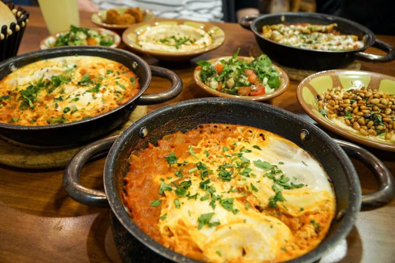 Israel Kurztrip Essen Shakshuka