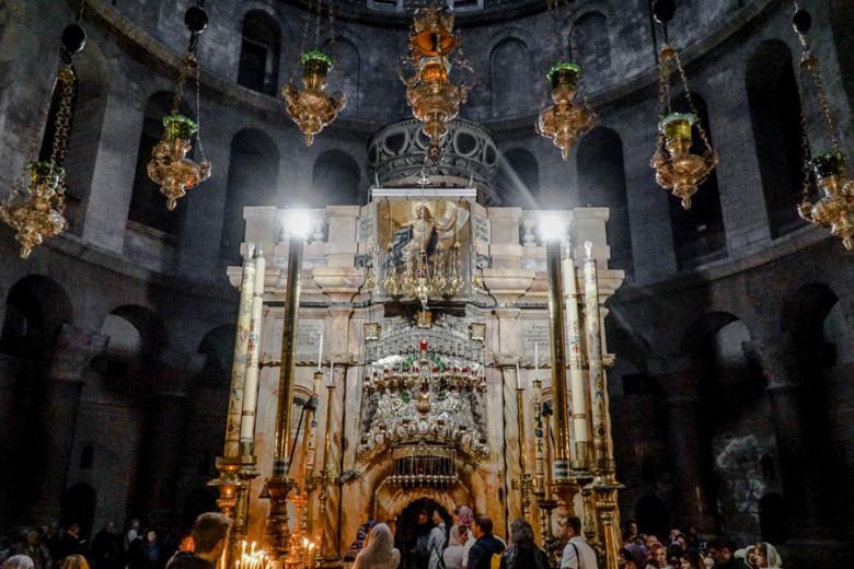 Israel Kurztrip Jerusalem Grabeskirche