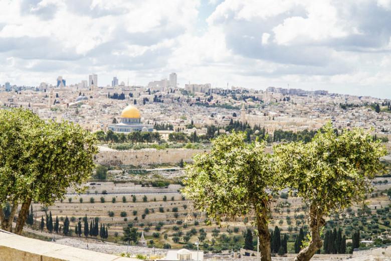 Israel Kurztrip Jerusalem Viewpoint Ölberg
