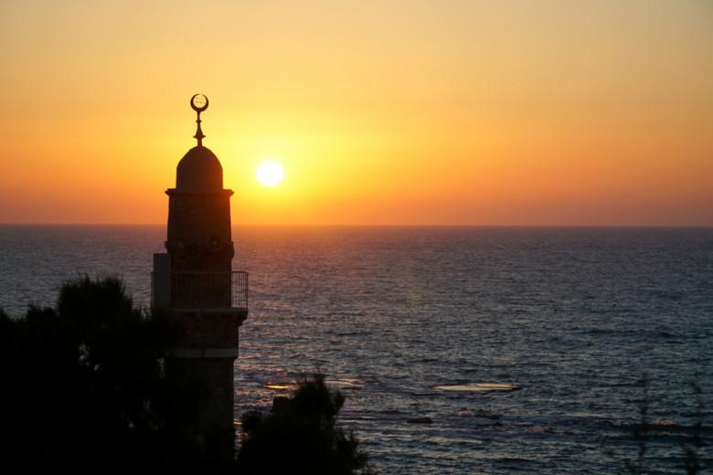 Israel Kurztrip Sonnenuntergang