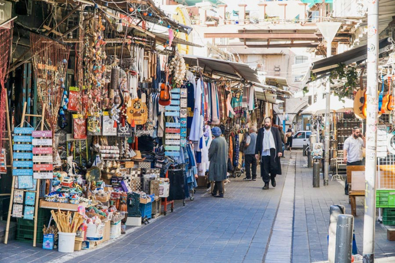 Israel Kurztrip Tel Aviv Flohmarkt