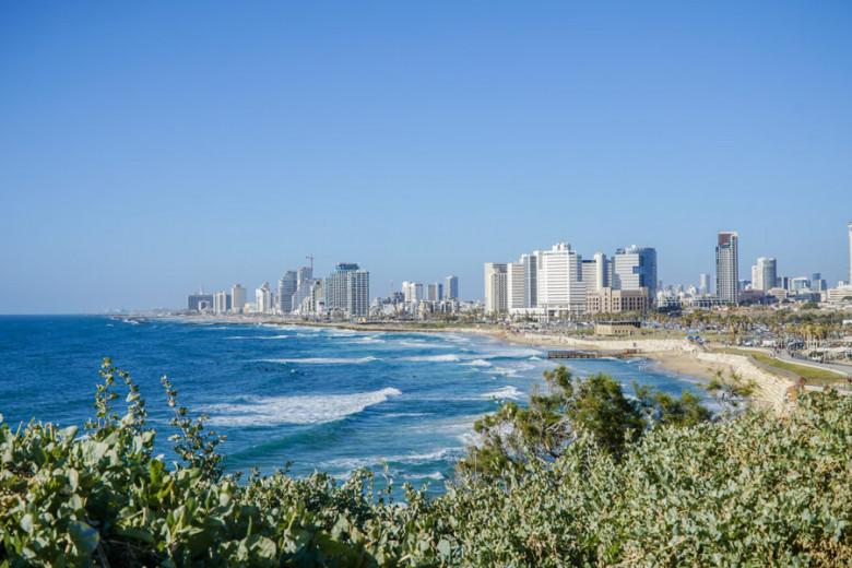 Israel Kurztrip Tel Aviv Aussicht