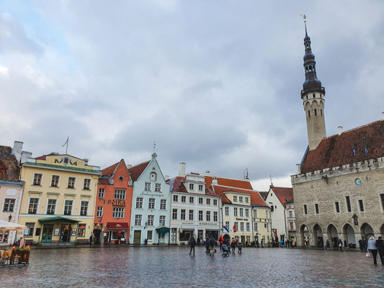 Rathausplatz Tallinn Altstadt