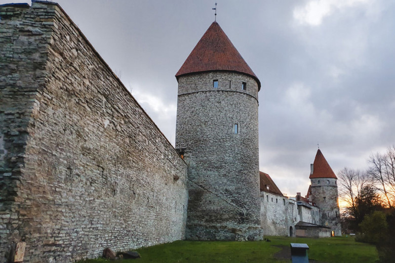 Tallinn Stadtmauer Wehrtürme