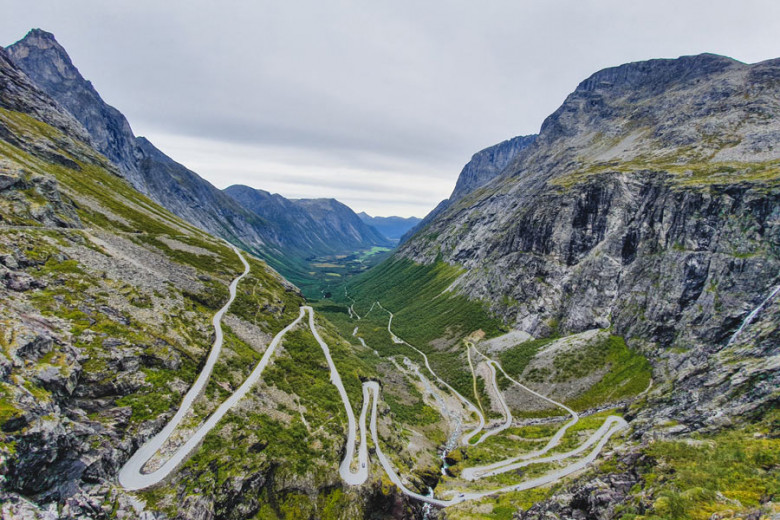 Reise-Highlights 2019 Norwegen Trollstigen