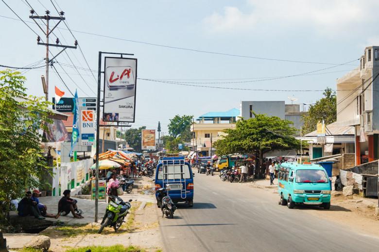 Flores Indonesien Stadt Ende