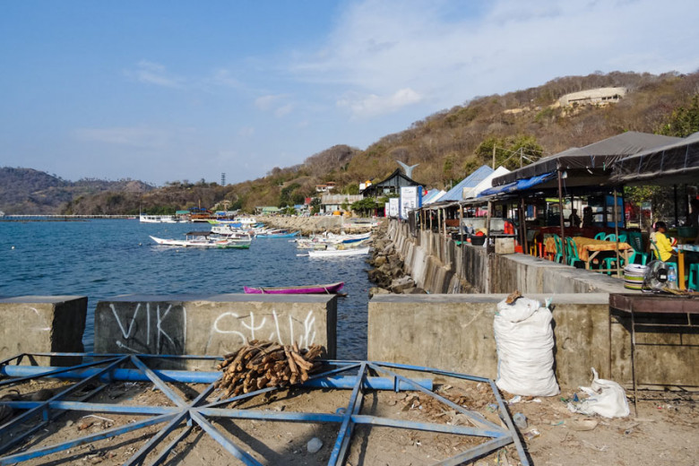 Flores Indonesien Labuan Bajo Hafen