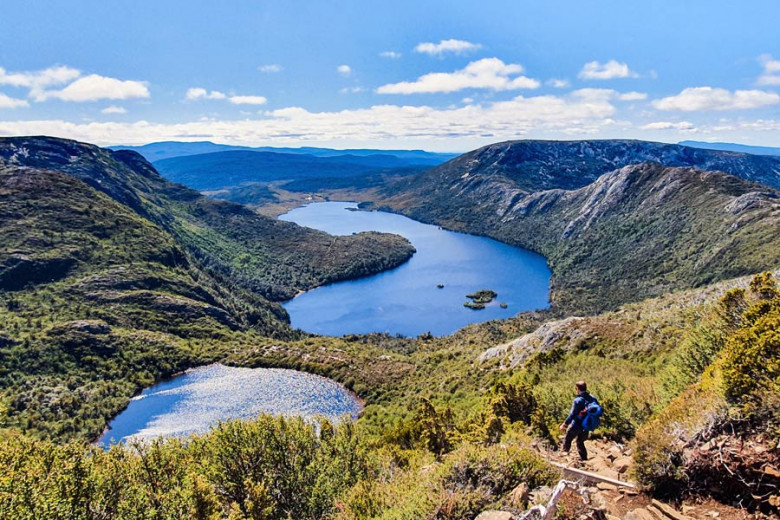 Wandern am Cradle Mountain Tasmanien