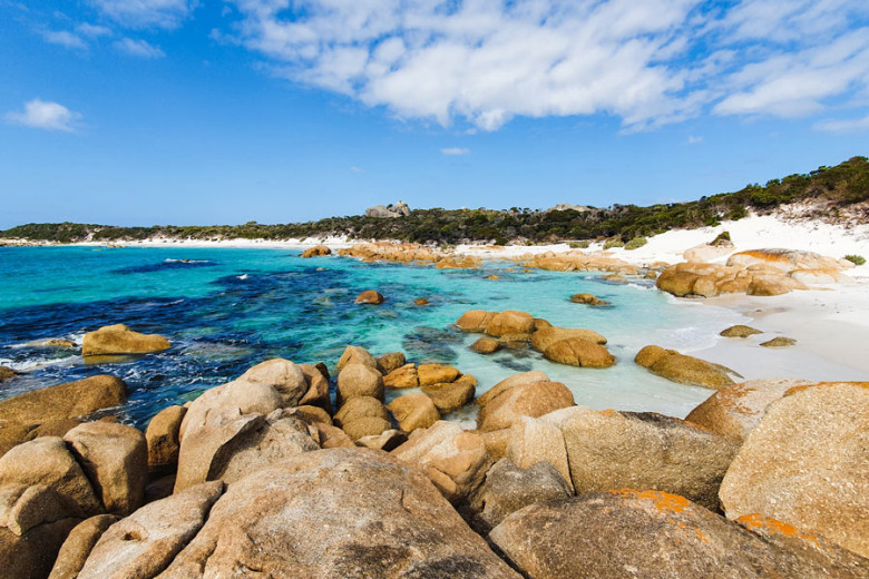 Bay of Fires Tasmanien