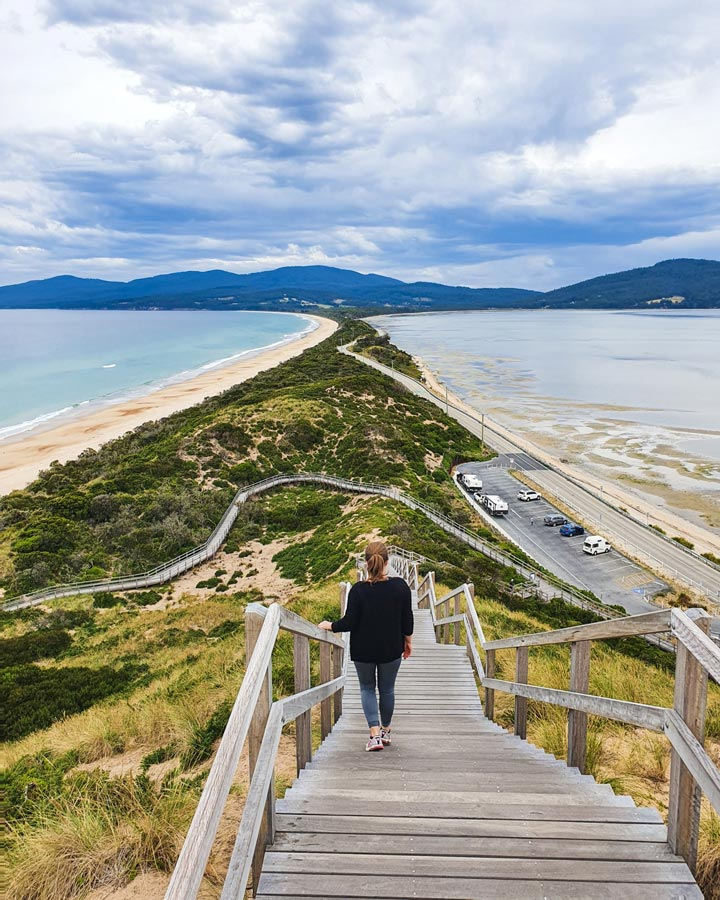 The Neck auf Bruny island